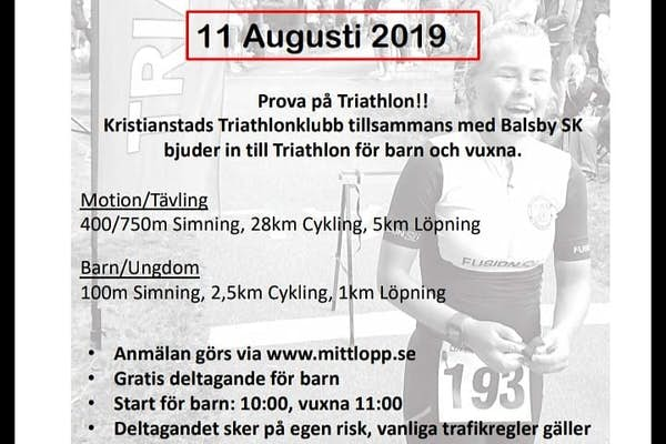 Bild - Kristiantad Triathlon i Balsby