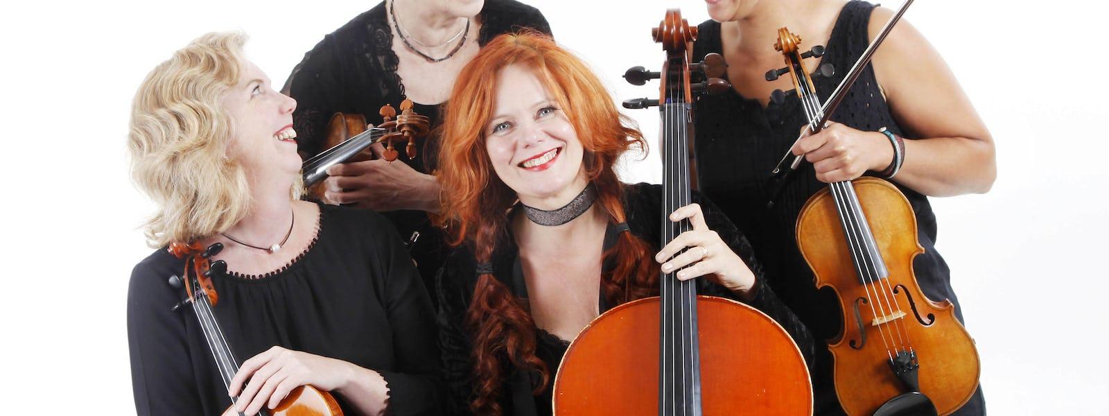 Bild - Eldiga toner med Amadeakvartetten