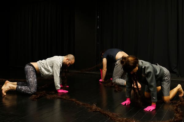 Bild - INHAKA dansperformance/workshop