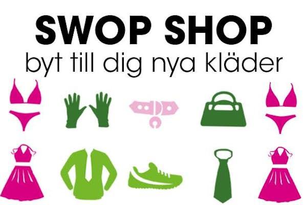 Bild - Swop Shop på Högskolan