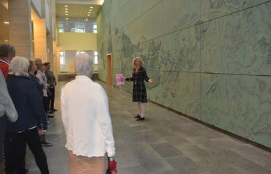 Bild - Konstvisning på Rådhus Skåne