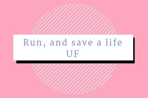 Bild - Run, and save a life UF - Lopp