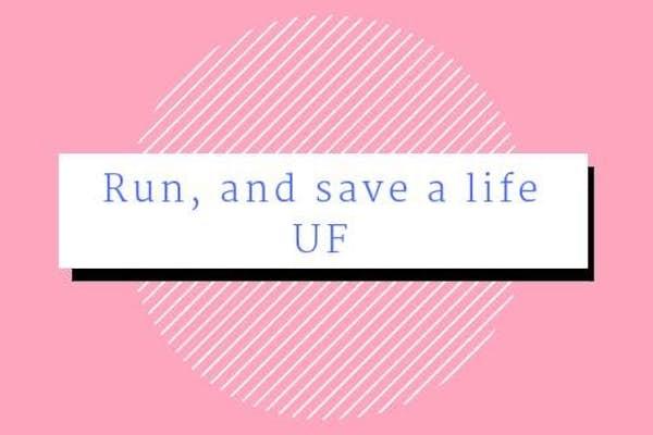 Bild - Run, and save a life UF - Lopp