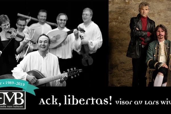 Bild - Ensemble Mare Balticum 30 År: Ack, Libertas!