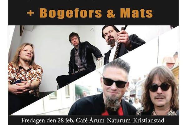 Bild - Tomi Leino Trio + Bogefors och Mats