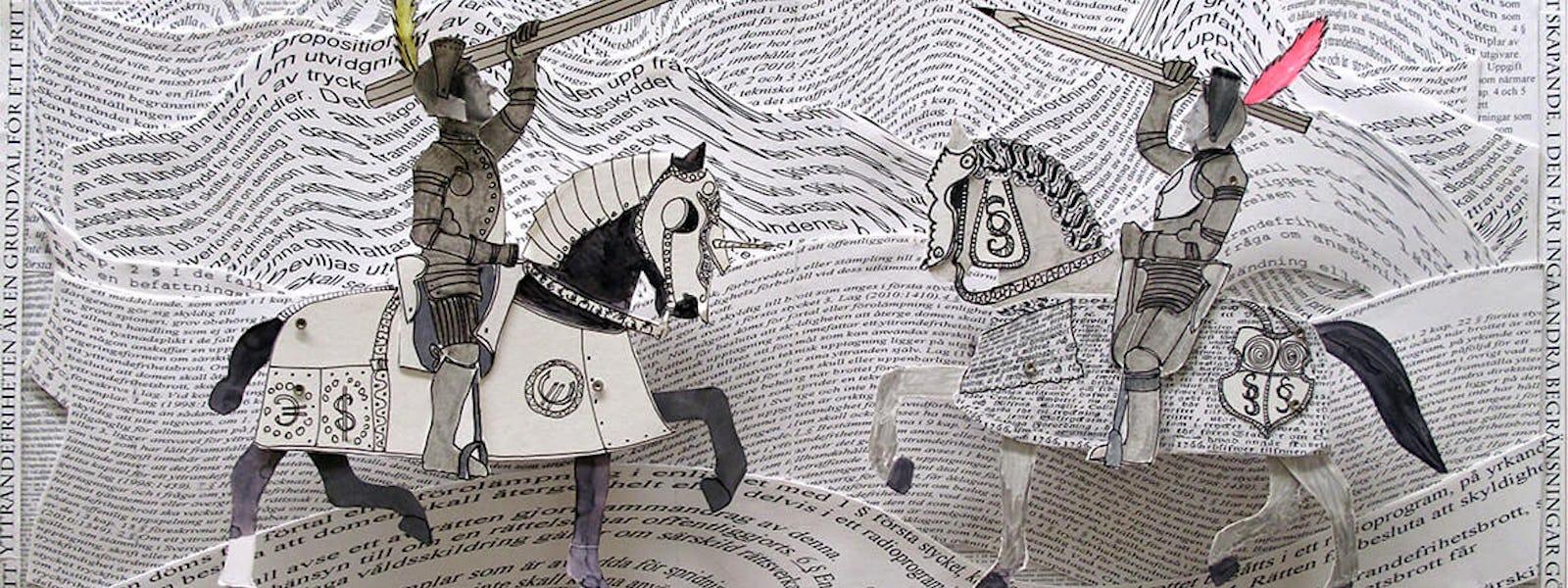 Bild - Lunchvisning: HÄST: Två parallella konstnärsskap