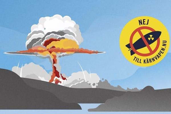 Bild - Nej till kärnvapen!