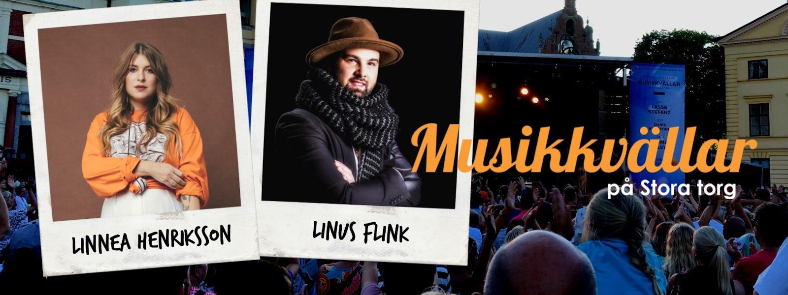 Bild - Musikkväll med Linnea Henriksson & Linus Flink