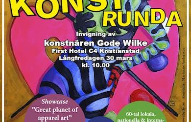 Bild - Konstrunda i Kristianstad