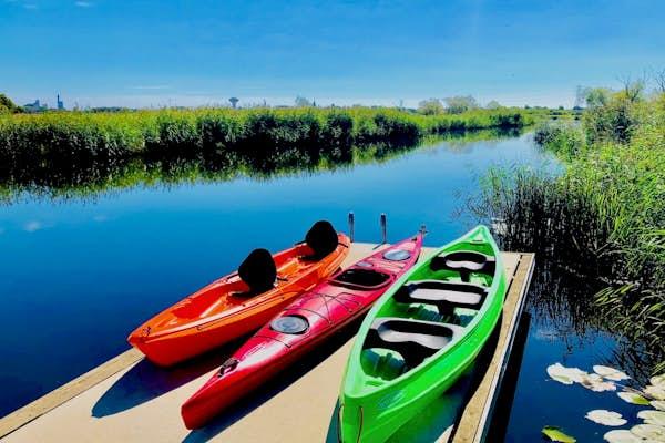 Bild - Paddla kajak och kanot