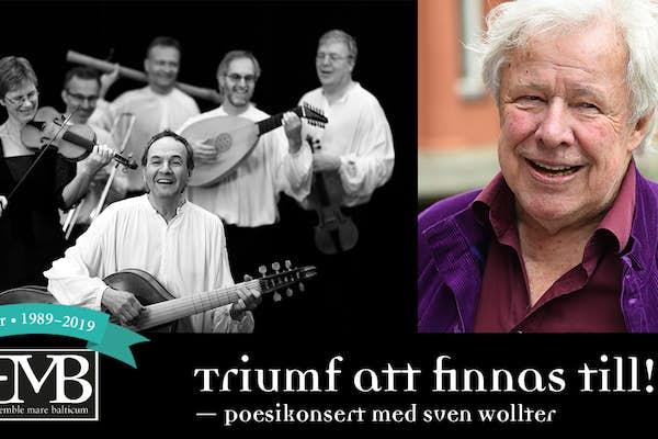 Bild - Ensemble Mare Balticum 30 År: Triumf att finnas till!