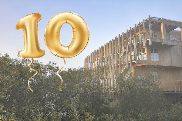 Bild - Naturum Vattenriket fyller 10 år
