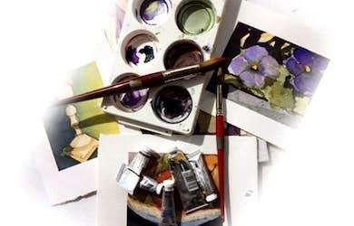 Bild - Utställning och Aktivt konstliv