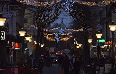 Bild - Julbelysningen tänds