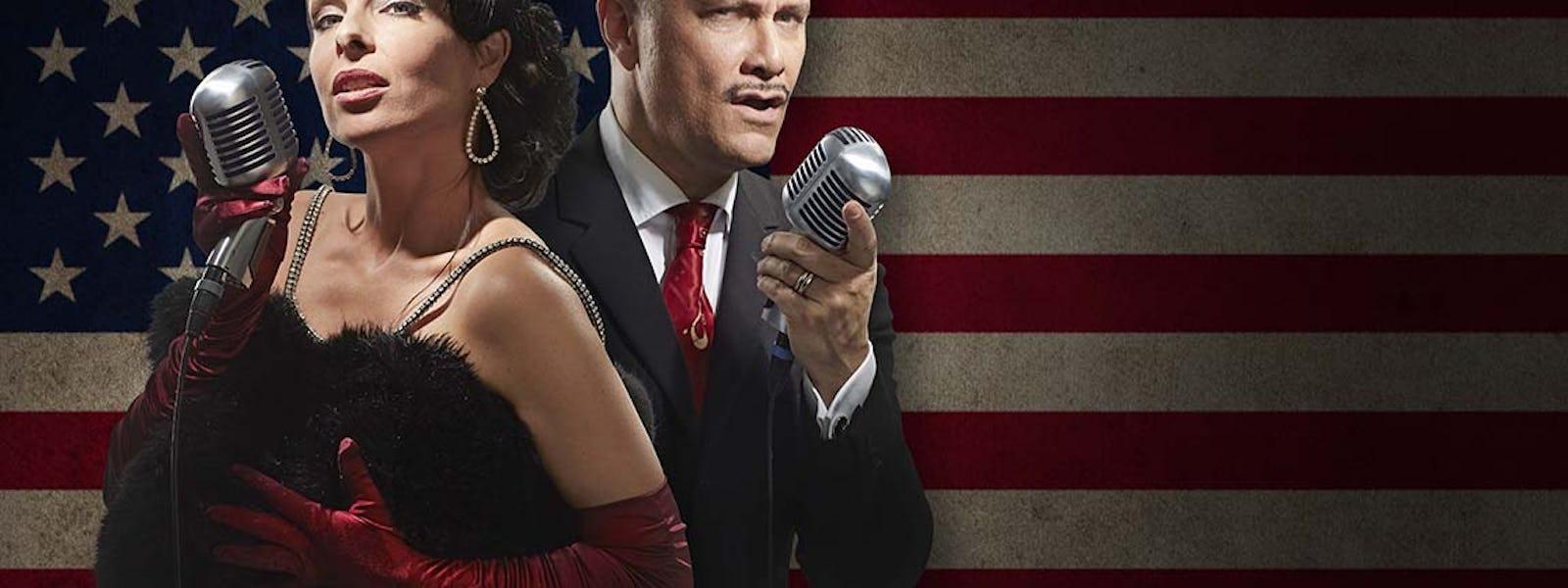 Bild - Laszlo & Tear - The American Songbook på svenska