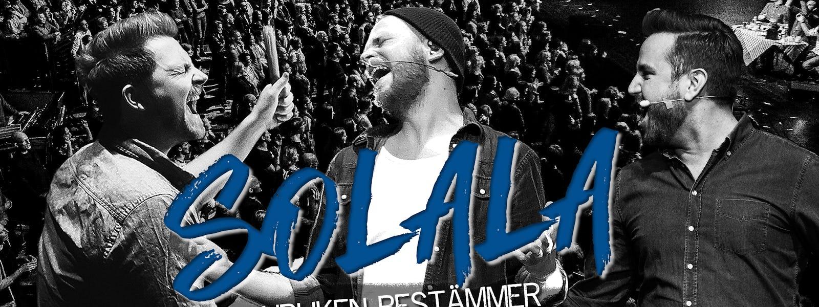 Bild - SOLALA – Publiken Bestämmer Tour 2020