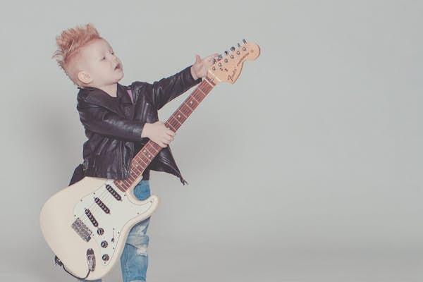 Bild - Rockstyling för barn