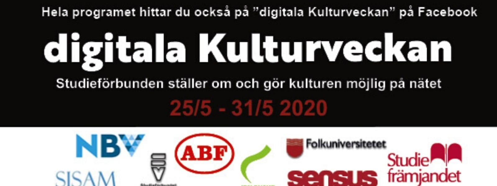 Bild - Digitala Kulturveckan!
