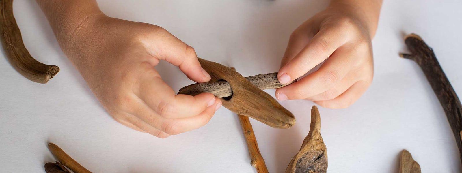 Bild - Konstiga pinnar