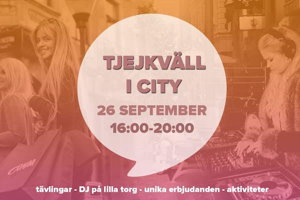 Bild - Tjejkväll i Kristianstad City