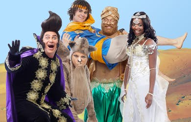 Bild - Familjemusikalen Aladdin