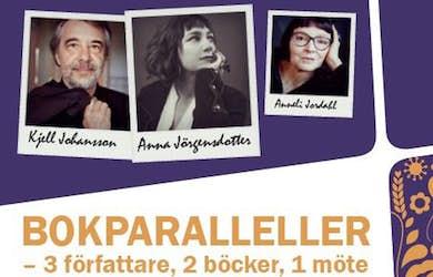 Bild - Bokparalleller – 3 författare, 2 böcker, 1 möte