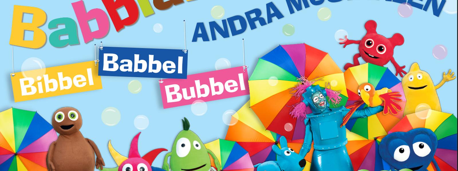 Bild - Babblarna Andra Musikalen - Bibbel Babbel Bubbel