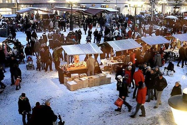 Bild - Julmarknad i Kristianstad City