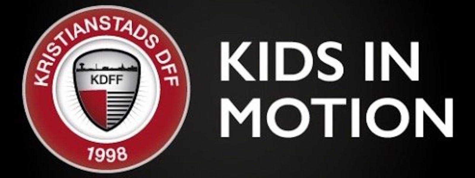 Bild - Kids in Motion i Österängshallen.