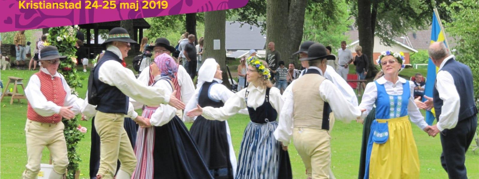 Bild - Linderöds folkdanslag och spelmanslag