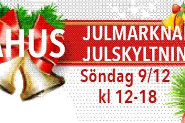 Bild - Julmarknad och julskyltning i Åhus