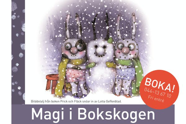 Bild - Magi i Bokskogen - Vintermagi!