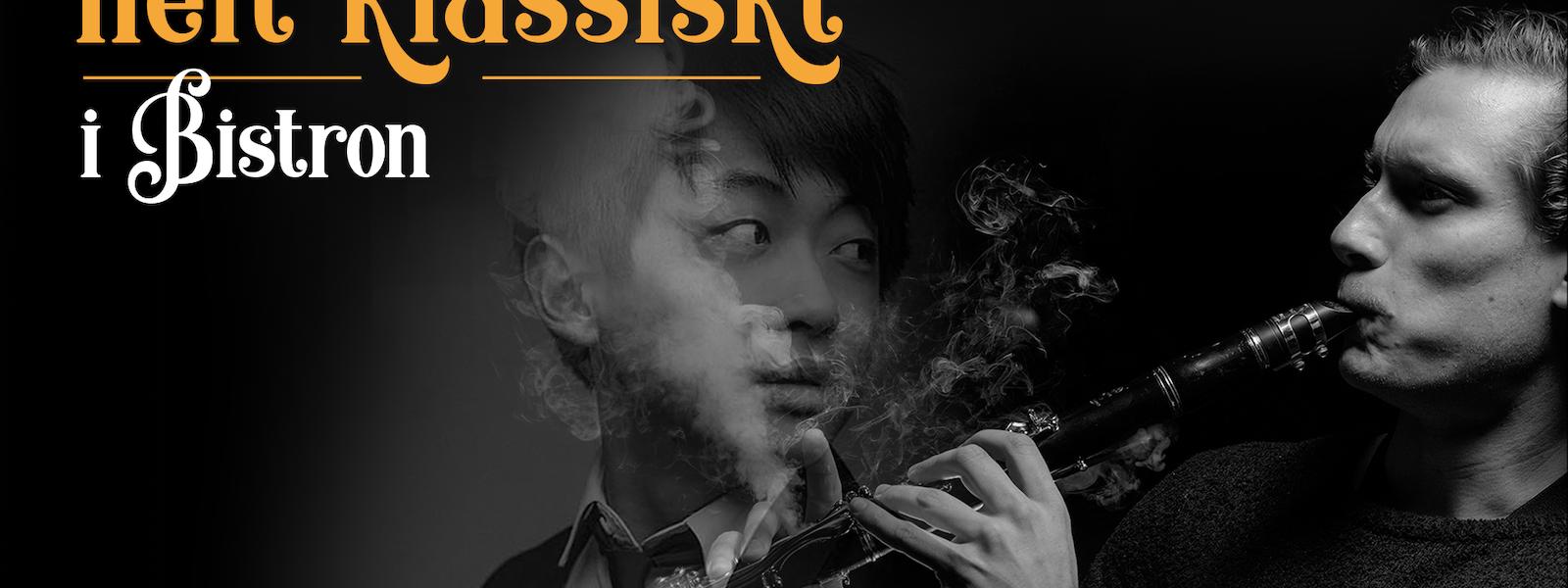 Bild - HELT KLASSISKT! Magnus Holmander, klarinett & David Huang, piano