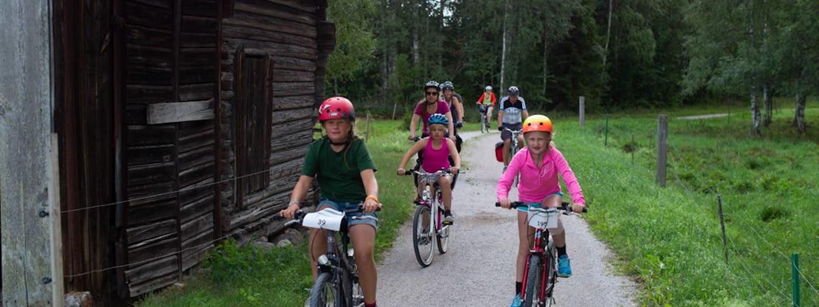Bild - Cykelturveckans premiärtur till Wanås