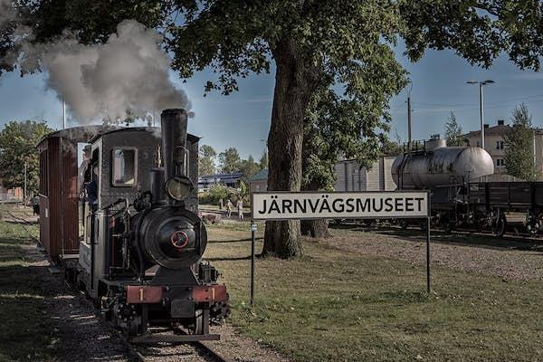 Bild - Kul på Järnvägsmuseet
