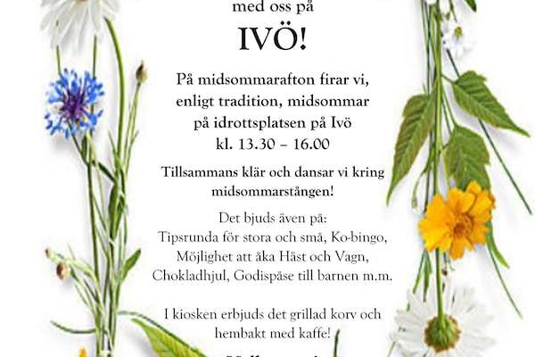 Bild - Midsommar på Ivö!