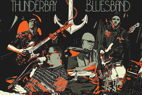 Bild - BluesParty presenterar: Thunderbay Bluesband