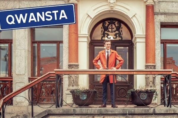 Bild - Äntligen Roligt: Qwansta - stand up med Hampus Algotsson