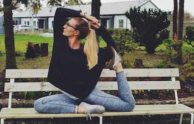 Bild - Yoga in the park