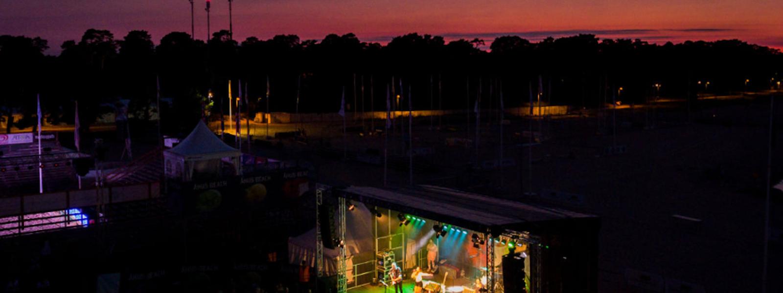 Bild - Åhus Beach live 2019