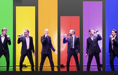 Bild - Vocal Six – jubileumsshow!