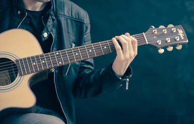 Bild - Musikhäng med lokala musiker