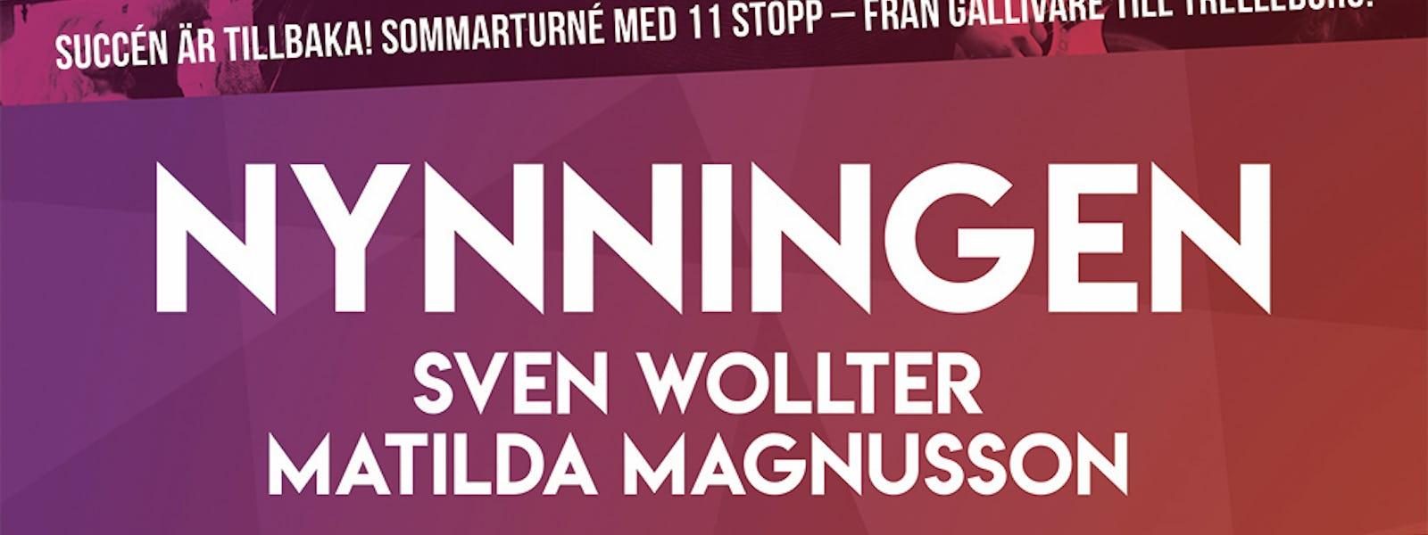 Bild - Nynningen, Sven Wollter och Matilda Magnusson