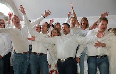Bild - Kören Trekvart sjunger in julen