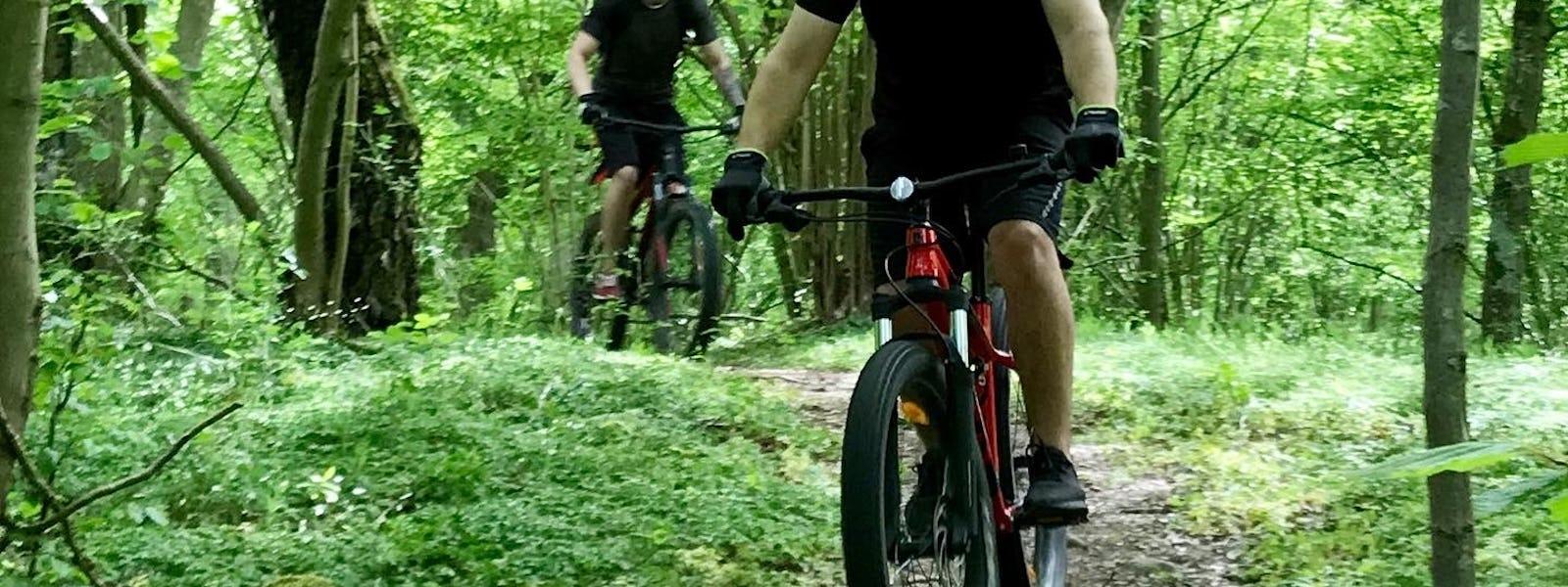 Bild - Mountainbike-tur för nybörjare