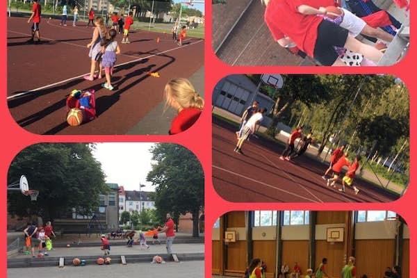 Bild - Basket för tjejer och killar 13-18 år