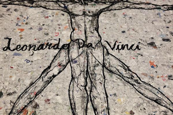 Bild - Vernissage: Nosabyskolans utställning om Da Vinci