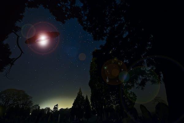 Bild - UFO-filmer på Regionmuseet
