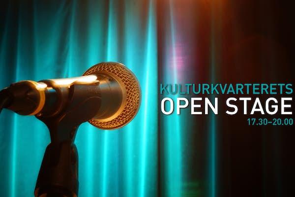 Bild - Kulturkvarterets Open Stage!