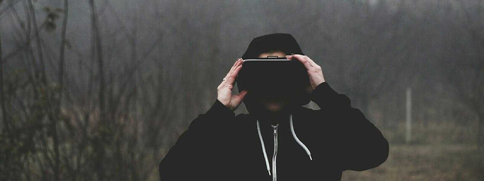 Bild - Workshop med VR-konst